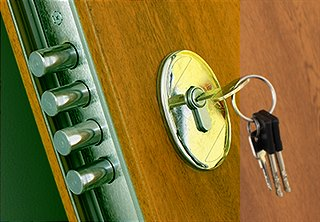 Digital Door Locks Make Homes More Secure